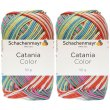 2x50 Gramm Schachenmayr Catania Color 211 Lollipop Color