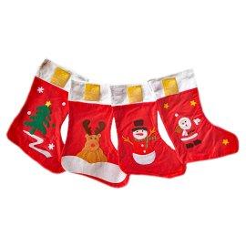 Weihnachtssocken Nikolausstrümpfe im 2er Pack Überraschungsmix