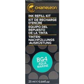 Chameleon Pens Ink Refill Kit Nachfüllset 25 ml BG4 Aqua Marine